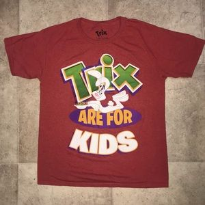 Trix Are For Kids Screen Printed Graphic T Size XL